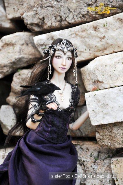 Винтер. Фарфоровая шарнирная кукла от SisterFox