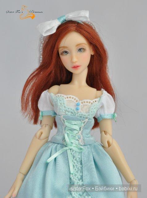 шарнирная полиуретановая кукла от SisterFox молд Айрис