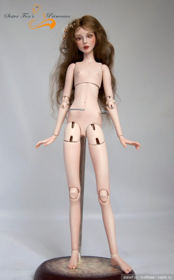 фарфоровая шарнирная кукла от SisterFox