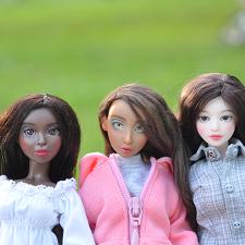Шарнирные куклы в костюмчиках от SisterFox
