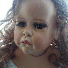 Фарфоровая кукла от Hildegard Günzel