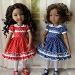 Платья для кукол Ruby Red Fashion Friends (37 см)