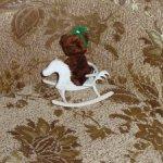 Авторская ручная работа: Лошадка-качалка для кукол и медведей.