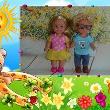 Моя небольшая коллекция куколок Evi Simba!