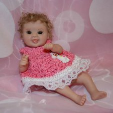 Ooak Miniature Dolls by Serena Butterfly - Авторские куклы дети by Serena Butterfly - 7