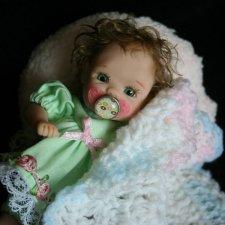 Ooak Miniature Dolls by Serena Butterfly - Авторские куклы дети by Serena Butterfly - 6