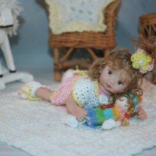 Ooak Miniature Dolls by Serena Butterfly - Авторские кукло дети by Serena Butterfly - 8