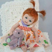 Ooak Miniature Dolls by Serena Butterfly - Авторские куклы дети by Serena Butterfly - 9