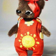 Замечательные и забавные Авторские плюшевые игрушки Ирины Макаровой - 3