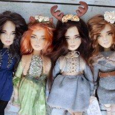 ViollyStudio - Авторские текстильные куклы Ольги Меркуловой