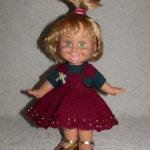 Вязаный наряд для кукол Galoob Baby Face (34 см)