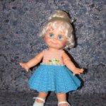 Вязаные наряды для кукол Galoob Baby Face (34 см)
