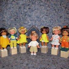 Мои куколки - косолапки Schalkau - 4 новеньких сестрички в моей коллекции