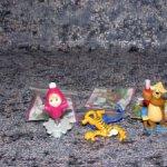 Kinder Surprise - Маша и Медведь - коллекционные фигурки