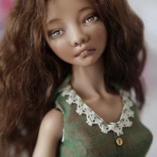 Фарфоровая кукла Алины Ивановой,цена дешевле покупной!
