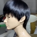 Шикарный парик в стиле пикси, на кукол iplehouse  SID с  обхватом головы: 21 cm и им подобным!