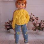 Комплект ,подходит большим куклам от Meadow dolls (Мае,Сильвия, Ардин),Готц