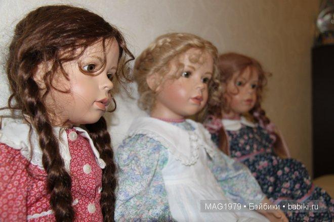Куколки Vera Scholz. Моя коллекция