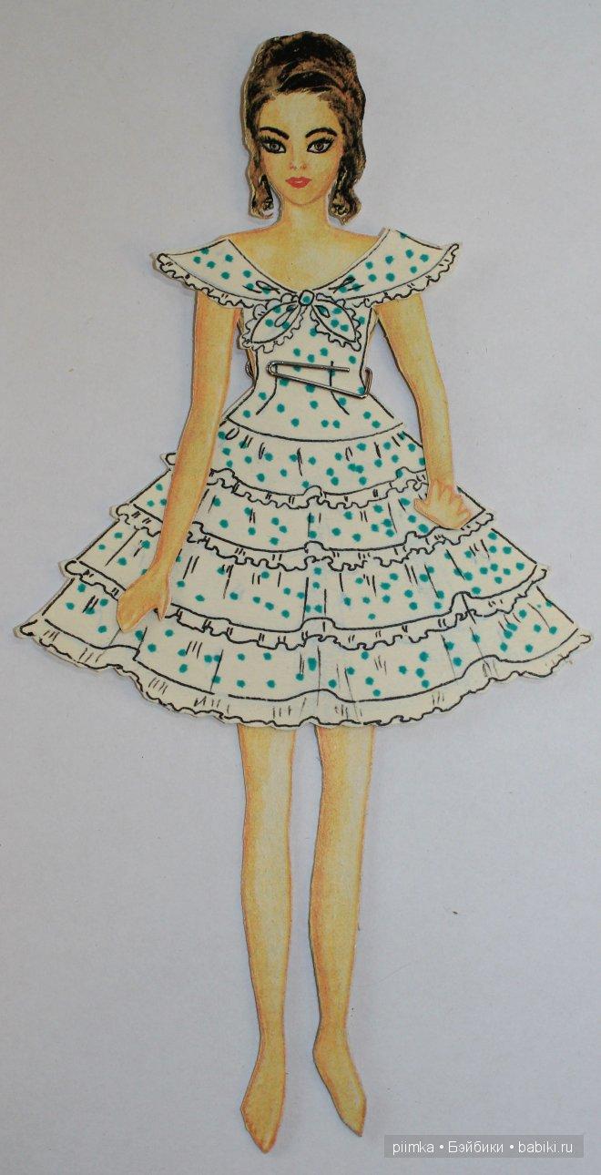 Самые любимые рисованные бумажные куклы