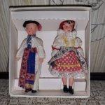 Пара миниатюрных кукол из Чехословакии времён СССР