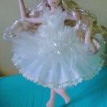 Моя балерина. Кукла из ткани