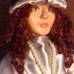 Авторская кукла Леди Мери