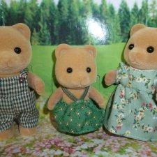 Семья мармеладных медведей sylvanian families 600