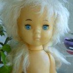 Редкая кукла Виолетта,Сибигрушка СССР 70х