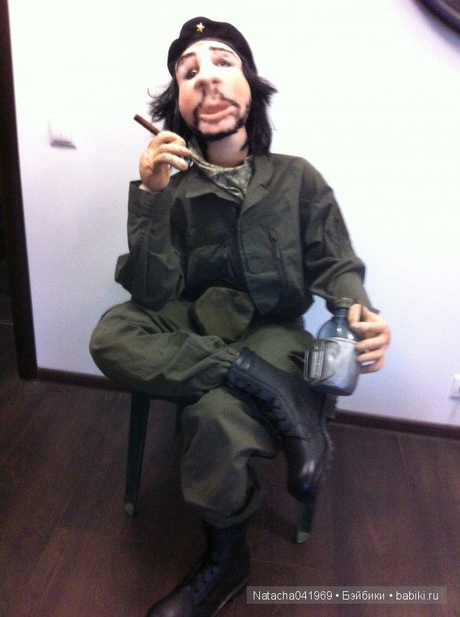 Кукла была сшита по заказу для музея истории