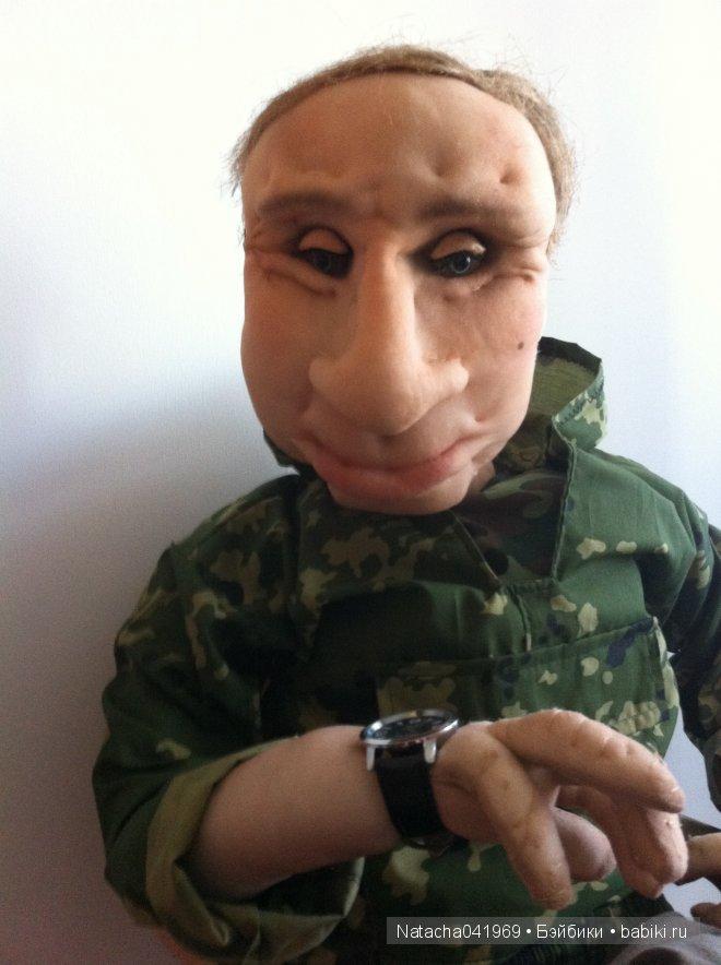 портретнапя текстильная кукла