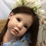 Милена - Нивея или девочка реборн в голубом