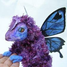 Цветочный дракон из серии Лес на ладошке