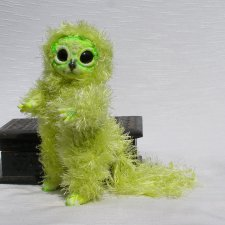 Тоска зеленая из серии Лес на ладошке