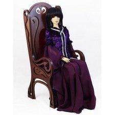 Широкое Кресло с высокой спинкой для кукол от 45 до 70+см (модель 06)