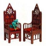 Изысканный мини трон для маленьких королей и королев ростом до 37см