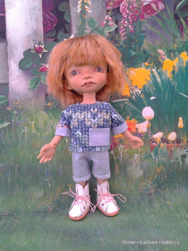Костюм для куклы БЖД