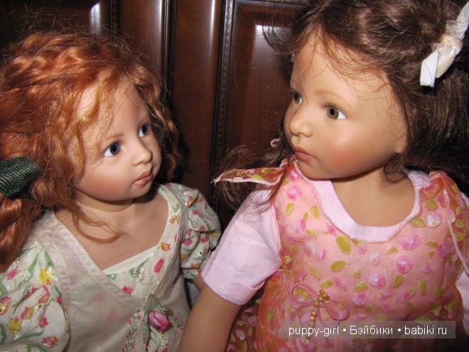 Авторские куколки Адриен и Доротея от Heidi Plusczok