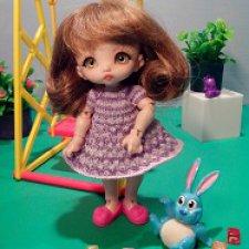 Первое платье для Ляли (Bebe Poyo DollPamm)