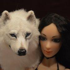 Кармина-Даниэль и ее Белый волк