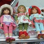 """Наисвежайшие плюшечки. Коллекция кукол Heidi Plusczok 2016 года на выставке """"Искусство куклы 2015"""" в Москве"""
