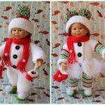 """Два новогодних костюма """" Снеговички"""""""