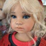 Голубоглазка Noela (OOAK) от Angela Sutter