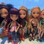 Подружки от Freckles and Friends - только сегодня 2800 за трех девочек!