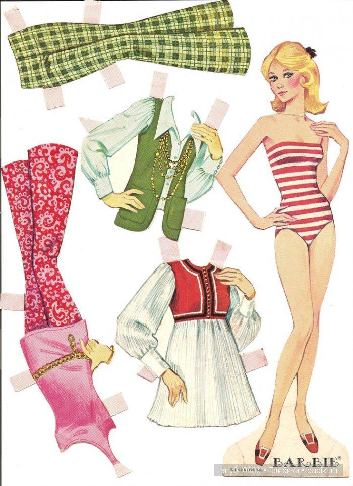 картинки бумажных кукол в одежде прайс-лист