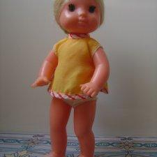 Паричковая куколка СССР фабричное имя Шурочка. рост 24 см.