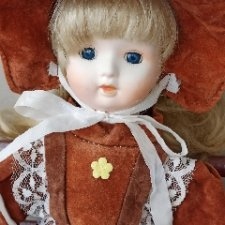 Немецкая Фарфоровая кукла 45 см