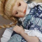 Фарфоровая кукла 30 см