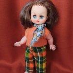 Кукла Италия 21 см 70 е гг