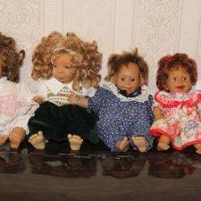 характерные куклы одним лотом  1500 руб