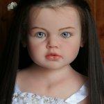 Куколка для дочки, силикон